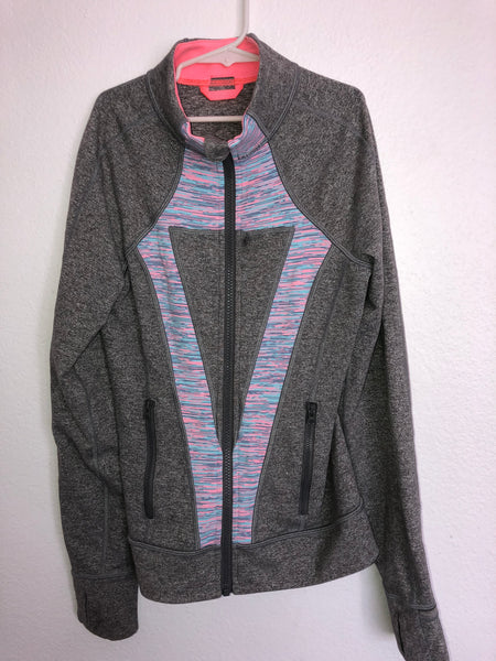 Gray Ivivva Perfect Your Practice Jacket