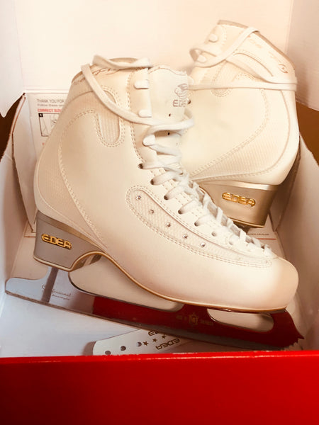 Edea Ice Fly Skates 240 C with MK Professional Blades -- Worn Twice