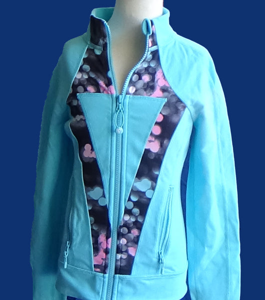 Ivivva Perfect Your Practice Jacket -- Ice Blue