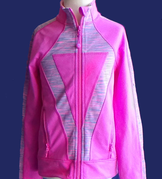 Ivivva Perfect Your Practice Jacket -- Hot Pink