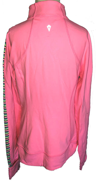 Ivivva Perfect Your Practice Jacket -- Pink -- Child Size 12