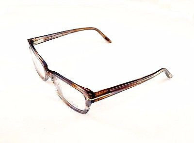 Tom Ford Eyeglasses Frame TF5184 086 Brown Marble Plastic Italy Made 52-18-135