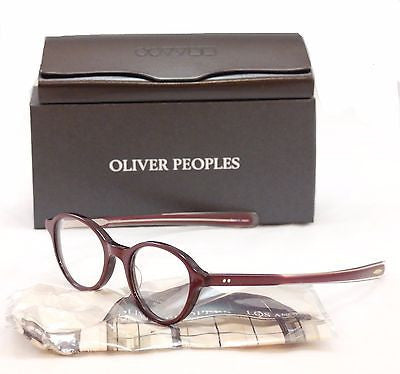 Oliver Peoples Eyeglasses Frame Rowan Plastic Roc/Rose Japan 46-21-140 Very Rare - Frame Bay