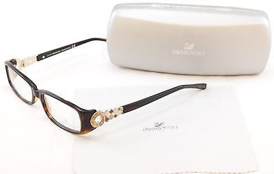 Swarovski Eyeglasses Bubble SW5029 052 Dark Havana Plastic Italy Made 53-15-130 - Frame Bay