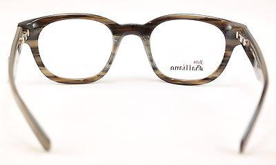 John Galliano Eyeglasses Frame JG5018 064 Plastic Gray Newspaper Italy 48-22-140