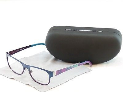 Diesel Eyeglasses Frame DL5026 092 Blue Violet Metal Genuine 52-18-140