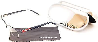 Image of Dsquared2 Eyeglasses Frame DQ5069 09A Blue Metal Plastic High Quality 53-18-140