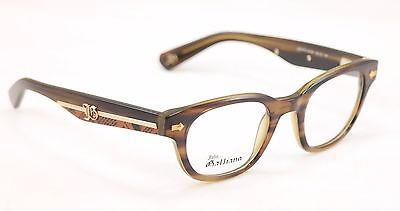 Image of John Galliano Eyeglasses Frame JG5018 061 Plastic Havana Brown Italy 48-22-140