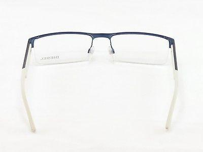 Diesel Eyeglasses Frame DL5021 091 Plastic Blue Palladium Top Quality 55-18-140