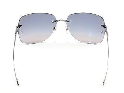 Mont Blanc Sunglasses MB354S 12B Ruthenium Gradient Woman Italy Made 100% UV