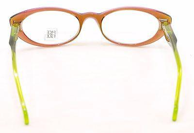 Image of Face A Face Eyeglasses Roxan 1 247 Transparent Purple Plastic France Hand Made
