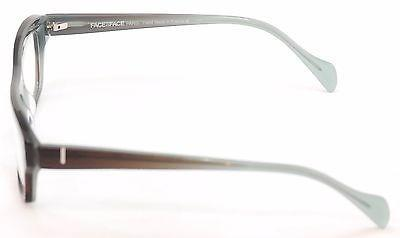 Face A Face Eyeglasses Frame Print 3 2060 Brown Plastic France Hand 55-17-140