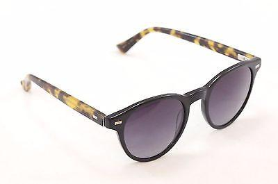 Sama Sunglasses Federico Black Matte Tortoise Gradient Lenses Japan 50-21-145