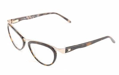 John Galliano Eyeglasses Frame JG5008 052 Metal Plastic Brown Gold Italy Made - Frame Bay