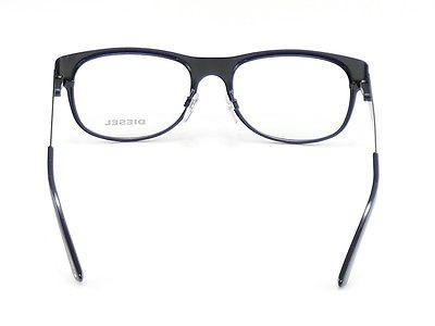 Diesel Eyeglasses Frame DL5026 002 Black Metal Top Quality 52-18-140 China Made