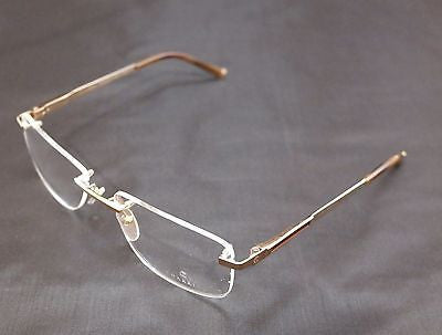Image of Charriol Eyeglasses Frame Rimless PC7397A C2 Gold Titanium France Made 56-18-140