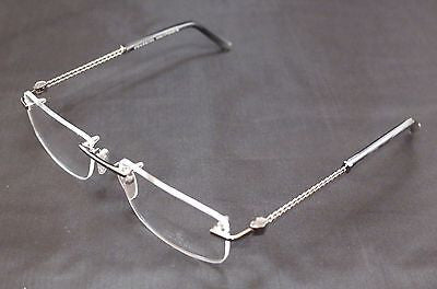 Charriol Eyeglasses Frame PC7431A C2 Titanium Gunmetal France Made 54-18-140