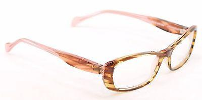 Face A Face Eyeglasses Frame Roxan 2 258 Light Tortoise Plastic France Hand Made