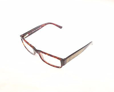 John Galliano Eyeglasses Frame JG5010 052 Plastic Brown Italy Made 52-16-135