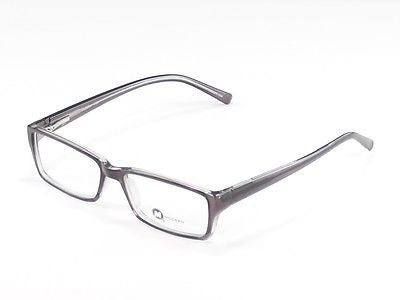 Image of Modern Eyeglasses Frame Visa Plastic Black Crystal China Made 54-17-140