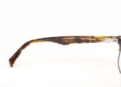 John Galliano Eyeglasses Frame JG5017 092 Brown Plastic Metal Italy 52-17-140