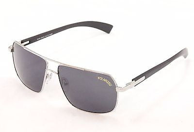 Image of Paul Vosheront Sunglasses PV347 Polarized Lenses Metal Plastic Italy 63-14-145