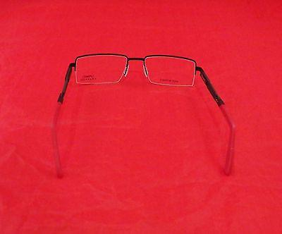 Charriol Eyeglasses Frame SP23003 Sports Carbon France Red Gunmetal 53-18-140