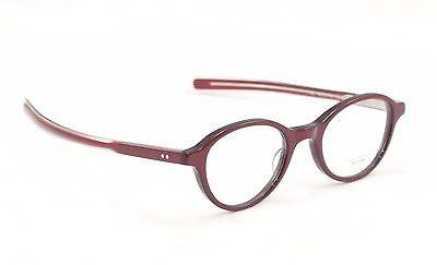 Oliver Peoples Eyeglasses Frame Rowan Plastic Roc/Rose Japan 46-21-140 Very Rare