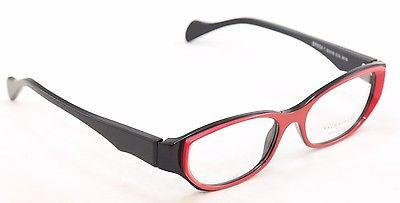 Image of Face A Face Eyeglasses Frame Epoca 1 3016 Red Black Plastic France Hand Made