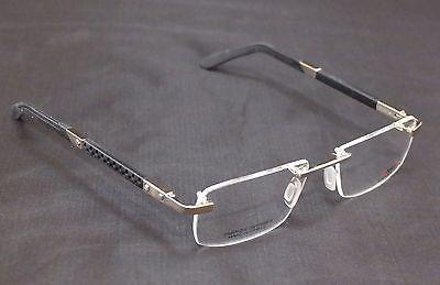 Charriol Eyeglasses Frame SP230088 Metal Sports France Made Gold Black 53-18-140