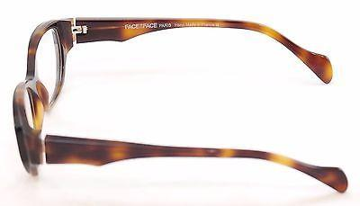 Image of Face A Face Eyeglasses Frame Epoca 1 038 Black Tortoise Plastic France Hand Made