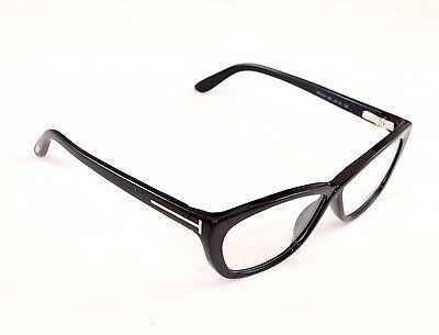 Image of Tom Ford Eyeglasses Frame TF5227  001  Black Plastic Italy Made 54-10-130