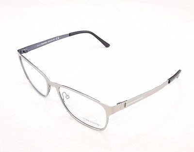 Tom Ford Eyeglasses Frame TF5242 020 Silver Metal Italy Made Original 55-17-140