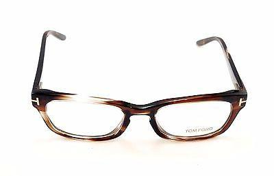 Image of Tom Ford Eyeglasses Frame TF5184 047 Brown Tortoise Plastic Italy Made 52-18-135
