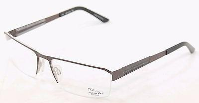 Jaguar Eyeglasses Frame 33556-827 Brown Gray Metal Germany Made 57-17-135