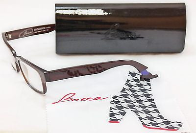 Face A Face Eyeglasses Bocca Smoking 2 222 Chestnut Brown Plastic Italy Hand Made
