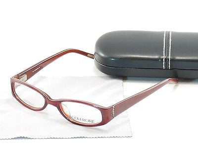 Covergirl Eyeglasses Frame CG392 056 Plastic Demi Red High Quality 49-17-130