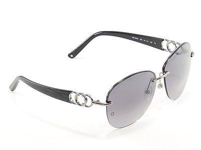 Mont Blanc Sunglasses MB333S 12B Gunmetal Gradient Woman Italy Made 100% UV
