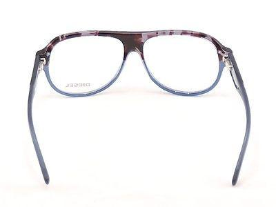 Diesel Eyeglasses Frame DL5003 050 Plastic Black Blue Top Quality 56-13-145