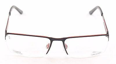 Image of Jaguar Eyeglasses Frame 33556 824 Black Red Metal Germany Made 57-17-135