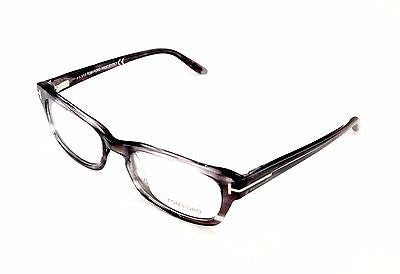Tom Ford Eyeglasses Frame TF5184 020 Plastic Gray Tortoise Italy Made 52-18-135 - Frame Bay