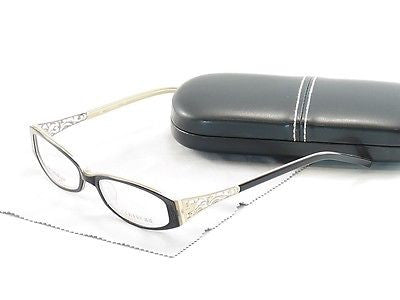 Covergirl Eyeglasses Frame CG0419 005 Plastic Black Cream High Quality 52-16-140
