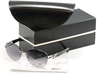 Mont Blanc Sunglasses MB333S 12B Gunmetal Gradient Woman Italy Made 100% UV - Frame Bay