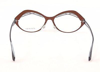 Image of Alain Mikli Eyeglasses AL1290 MO4Z Brown Blue Metal Plastic France 53-15-140