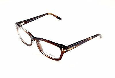 Tom Ford Eyeglasses Frame TF5184 047 Brown Tortoise Plastic Italy Made 52-18-135 - Frame Bay