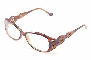 John Galliano Eyeglasses Frame JG5001 052 Plastic Brown Italy Made 55-13-130