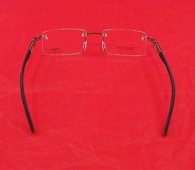 Image of Charriol SP23002A Eyeglasses Silver Gray Carbon Sports France Made Frame 53-18