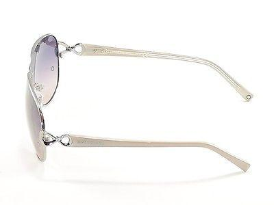 Image of Mont Blanc Sunglasses MB468S 12B Silver Beige Gradient Woman Italy Made 100% UV