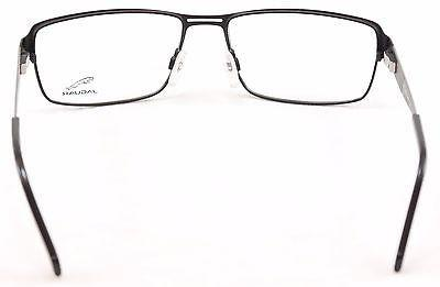 Jaguar Eyeglasses Frame 33058-818 Black Metal High Quality Germany 57-17-140