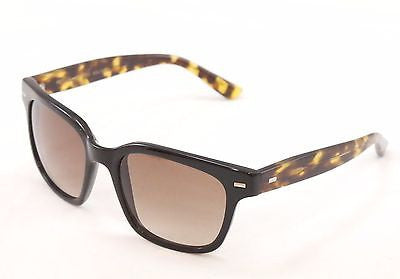 Sama Sunglasses Frame Nero Black Tortoise Lenses Plastic Japan Made 54-19-137